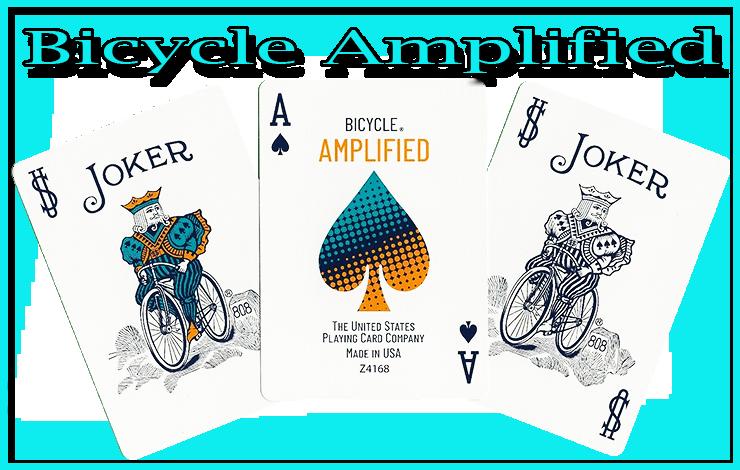 deux joker et un as de piques du jeu Bicycle Amplified