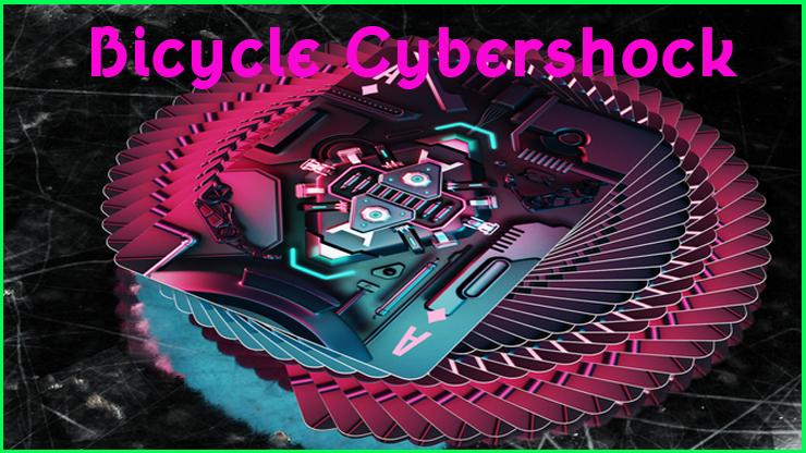 eventail du jeu en rosace du Jeu De Carte Le Bicycle Cybershock