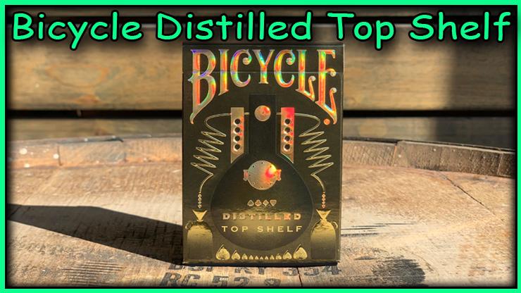 l'etui du jeu Bicycle Distilled Top Shelf