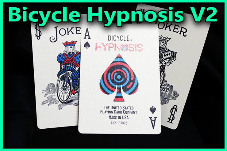 le joker l'as de pique et l'autre joker du Jeu De Carte Bicycle Hypnosis V2