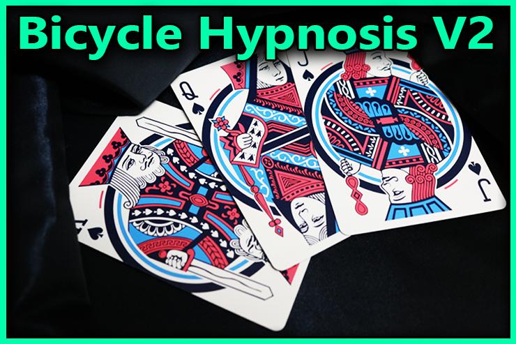 le roi de pique le valet de pique et la dame de pique face en l'aire du Jeu De Carte Bicycle Hypnosis V2