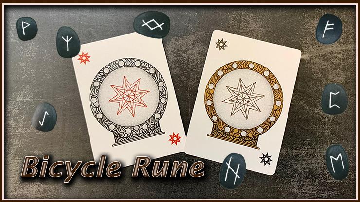 2 magnifiques joker avec un design d'étoile du jeu bicycle rune
