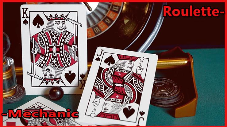 le roi de pique et le valet de pique du Jeu de Carte Roulette De Mechanic Industries.