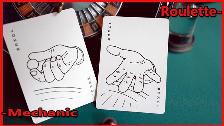 les deux joker représente une main du Jeu de Carte Roulette De Mechanic Industries.