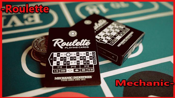 magnifique etui avec une carte du Jeu de Carte Roulette De Mechanic Industries.