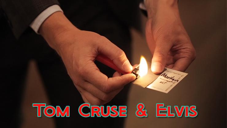 apparition de la prediction avec du feu du Celebrity Scorch - Tom Cruse & Elvis