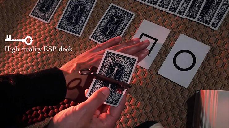 les carte esp et le magicien avec le ouija et la cle hante du tour Invocation de vernet