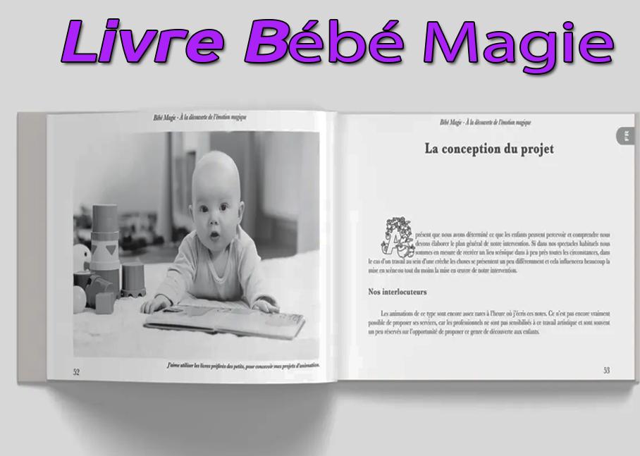 première page du Livre bébé magie de Peter Din