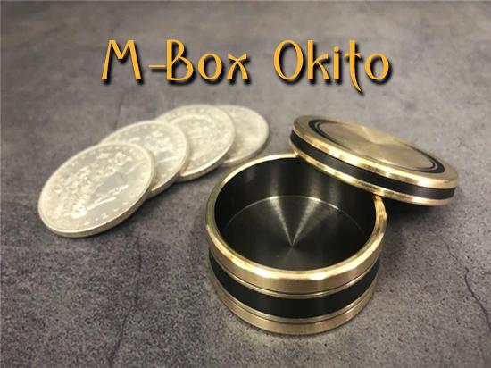 photo complète du matériel avec les pièces de M-box-okito Morgan