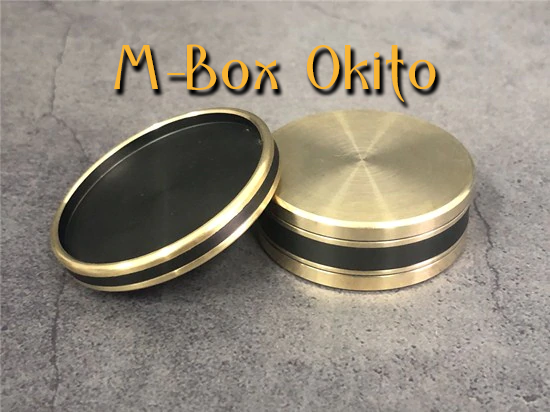 la boite et le couvercle sont retournés de M-box-okito Morgan