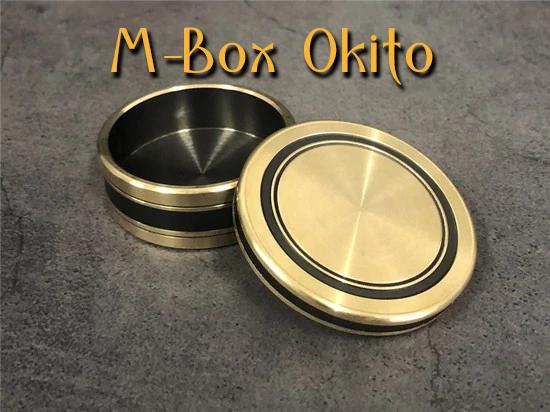 gros plan sur l'interieur de la boite de M-box-okito Morgan