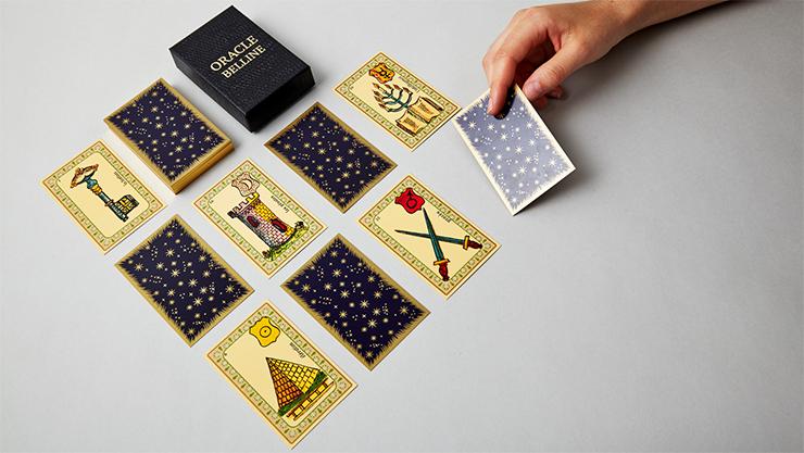 voici les cartes pour réaliser les tour du livre oracle belline