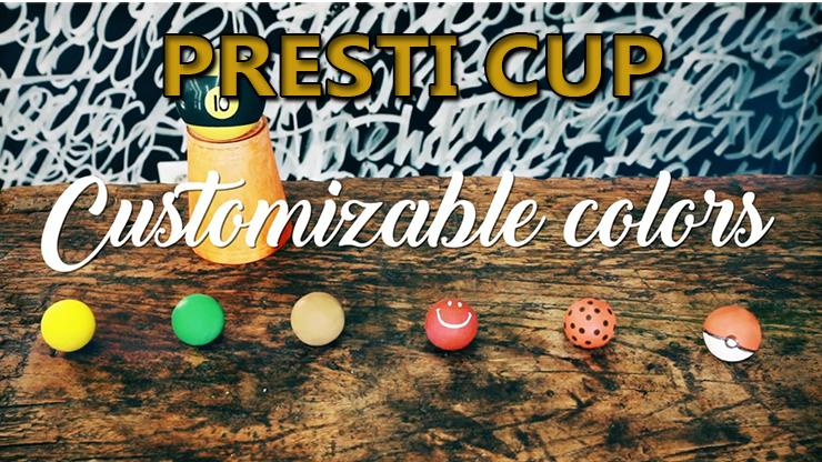 les balles sont customisable du tour Presti cup classique de Edouard Boulanger