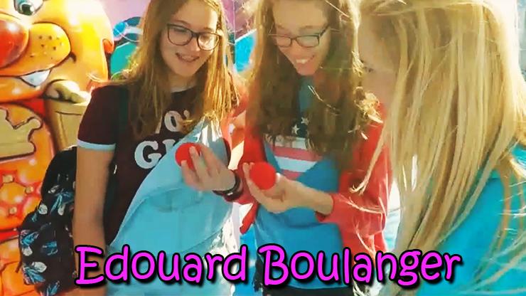 réaction du public sur le tour Red de Edouard Boulanger.