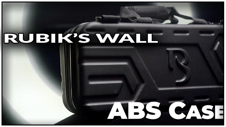 voici la valise en ABSnoir pour le  tour Rubiks wall Standard set - Bond Lee