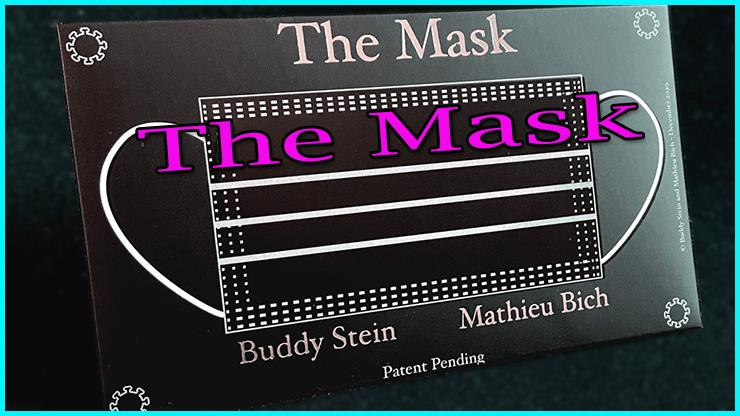 voici l'emballage du Tour The Mask de Mathieu Bich Et Buddy Stein
