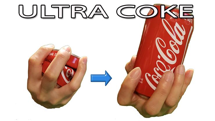déroulement de la routine, la canette et écrasée et reconstitué du tour Ultra coke Syouma