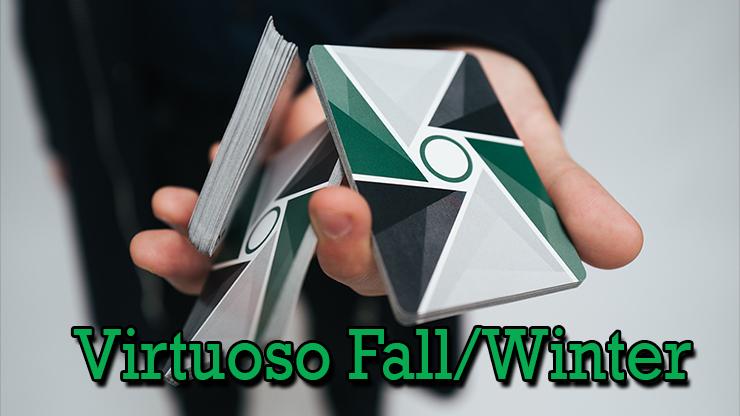 caristry en main en voyant les dos du jeu Virtuoso Fall/Winter 2017