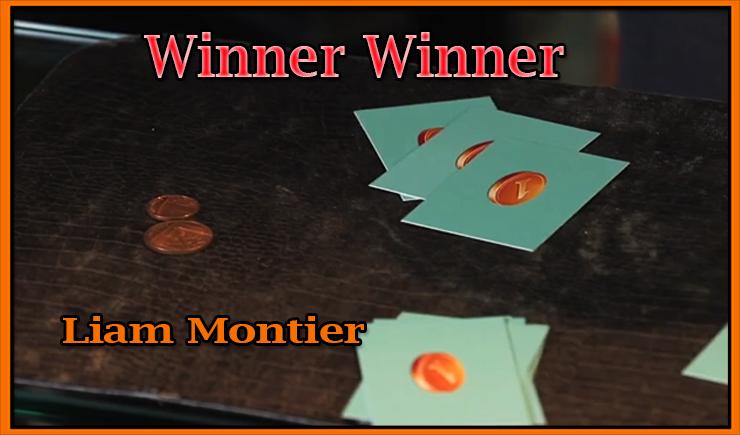 que des carte avec une photo de 1 pièce du tour Winner Winner Chicken Dinner De Kaymar Magic